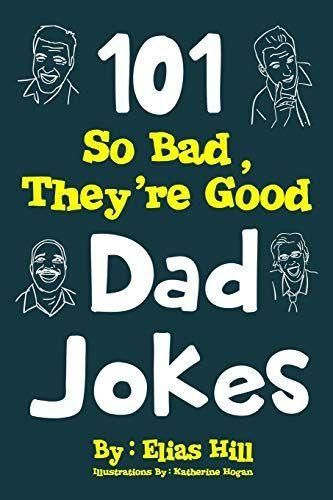 """<p><strong>101 So Bad, They're Good Dad Jokes</strong></p><p>amazon.com</p><p><strong>$5.99</strong></p><p><a href=""""https://www.amazon.com/dp/1973749122?tag=syn-yahoo-20&ascsubtag=%5Bartid%7C10049.g.27349308%5Bsrc%7Cyahoo-us"""" rel=""""nofollow noopener"""" target=""""_blank"""" data-ylk=""""slk:Shop Now"""" class=""""link rapid-noclick-resp"""">Shop Now</a></p><p>Even though the baby's too little to understand, they'll get a kick out of these jokes one day (or maybe not). <br></p>"""