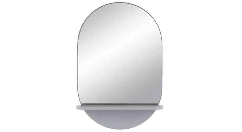 Habitat Freja Mirror with Shelf