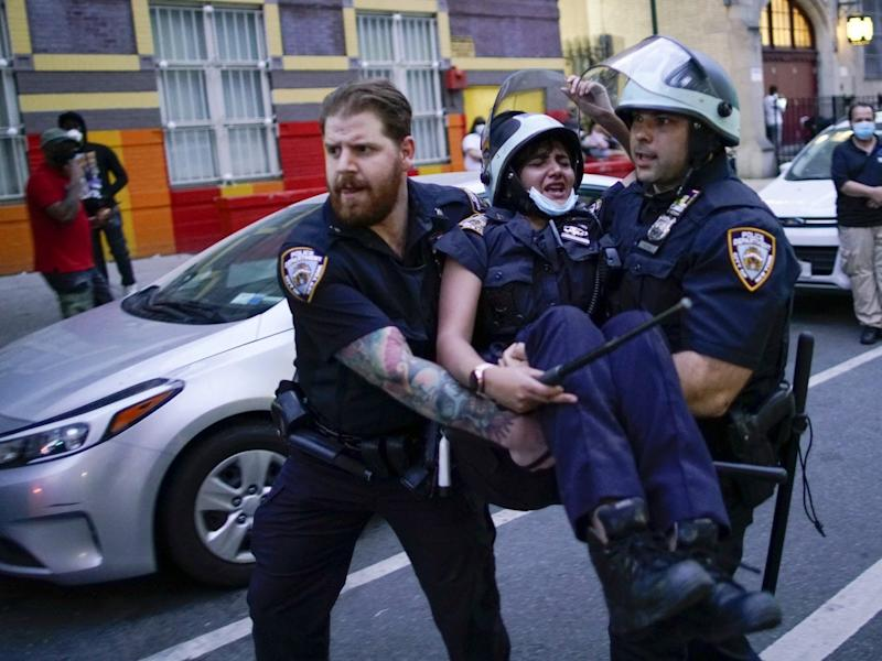 nypd protest