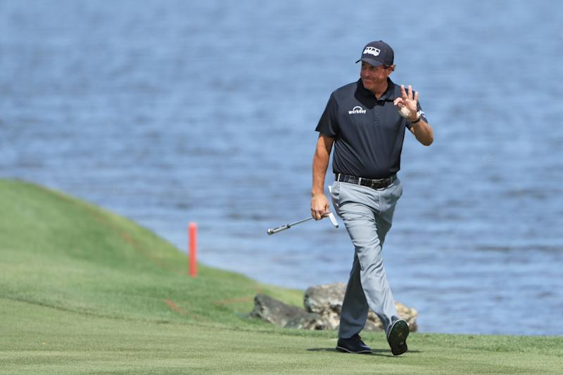 """Phil Mickelson is in the process of joining Michael Jordan's elite members-only golf club, """"The Grove XXIII."""""""