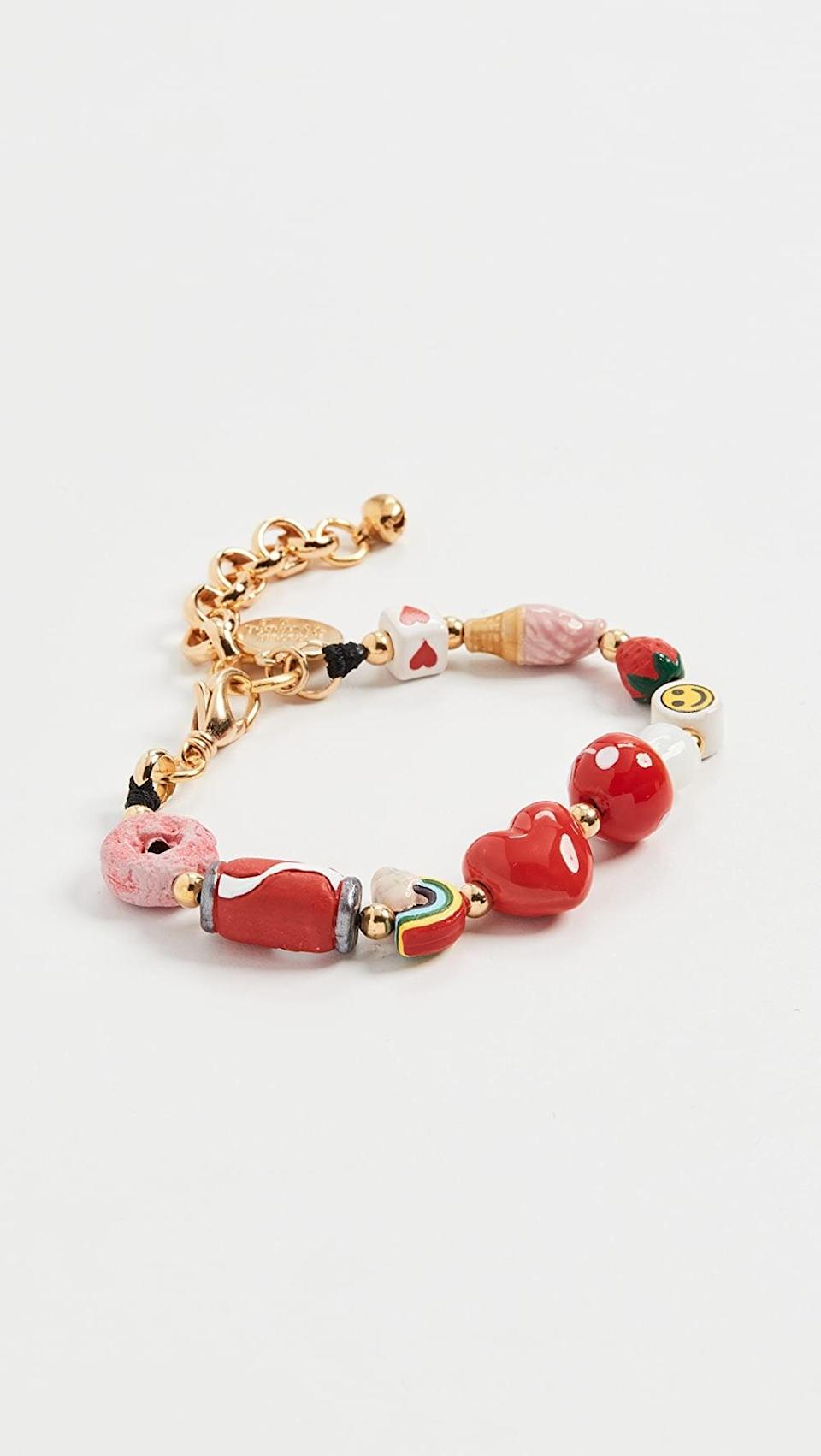 <p>This <span>Venessa Arizaga Sweet Spot Bracelet</span> ($95) is such a fun piece that will make you smile when you wear it.</p>