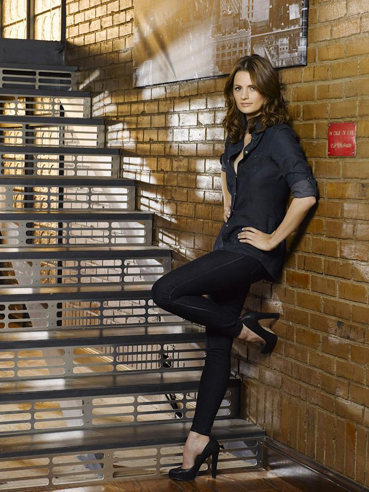 """Stana Katic stars as Detective Kate in """"Castle."""""""