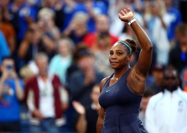Days afer retiring from the WTA Toronto final after four games, Serena Williams pulled out of the Cincinnati Masters prior to her scheduled first-round match (AFP Photo/Vaughn Ridley)