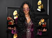 """<p>Inky black hair takes on new life this season with tons of dimension and gloss. It's harder than it looks to keep black hair color from falling flat, and this look does the exact opposite — <strong>H.E.R.</strong>'s long, midnight locks are the star of the show. </p><p><strong>RELATED: </strong><a href=""""https://www.goodhousekeeping.com/beauty/hair/g3536/natural-hairstyles/"""" rel=""""nofollow noopener"""" target=""""_blank"""" data-ylk=""""slk:45 Best Natural Hairstyles to Rock Right Now"""" class=""""link rapid-noclick-resp"""">45 Best Natural Hairstyles to Rock Right Now</a></p>"""