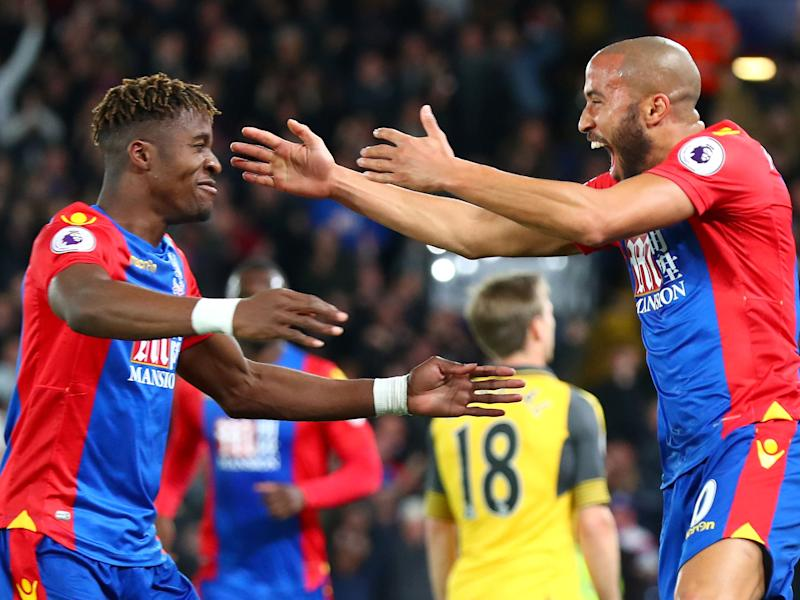 Zaha played a crucial role in Crystal Palace's victory: Getty