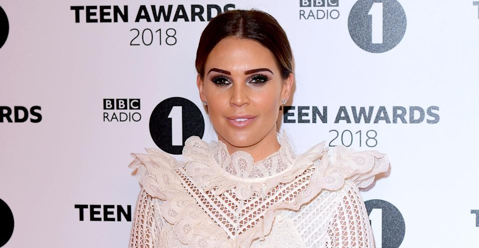 Danielle Lloyd woke up in a pool of her own blood after her breast implant exploded in the middle of the night