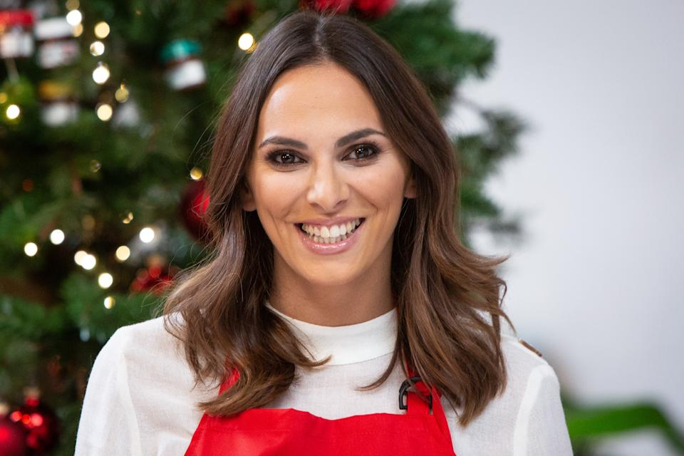 MADRID, SPAIN - NOVEMBER 23:  Irene Rosales presents the christmas season of Nutella on November 23, 2018 in Madrid, Spain.  (Photo by Pablo Cuadra/Getty Images)