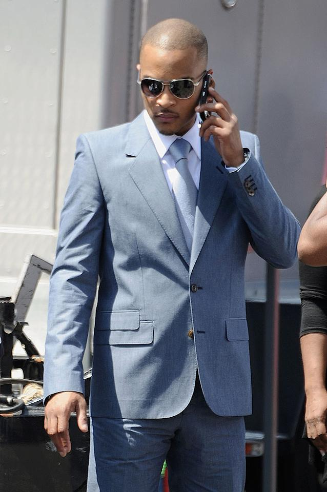 "Rapper T.I. made a triumphant return at the BET Awards, marking his first public appearance since being released from prison in December 2009. Jeff Kravitz/<a href=""http://www.filmmagic.com/"" target=""new"">FilmMagic.com</a> - June 27, 2010"