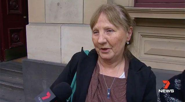 Deborah Paris showed the Victorian Supreme Court pictures of her only son, saying his death had broken her soul.Picture: 7 News