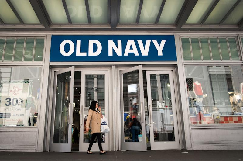 old navy storefront