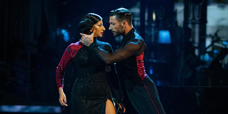 Ranvir Singh and Giovanni Pernice were surrounded by romance rumours. (BBC)