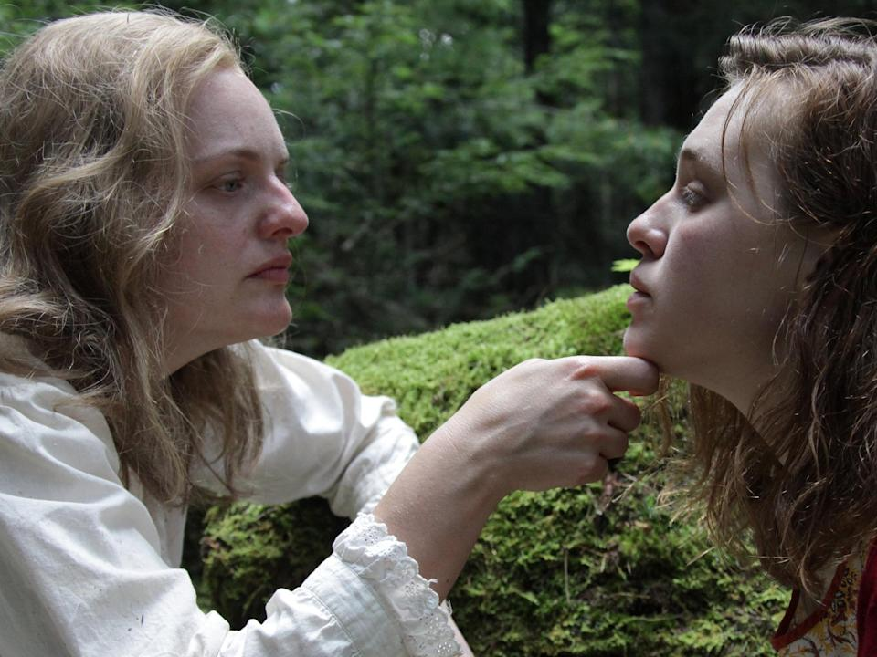 <p>Moss and Odessa Young in 'Shirley'</p>Curzon/Killer Films