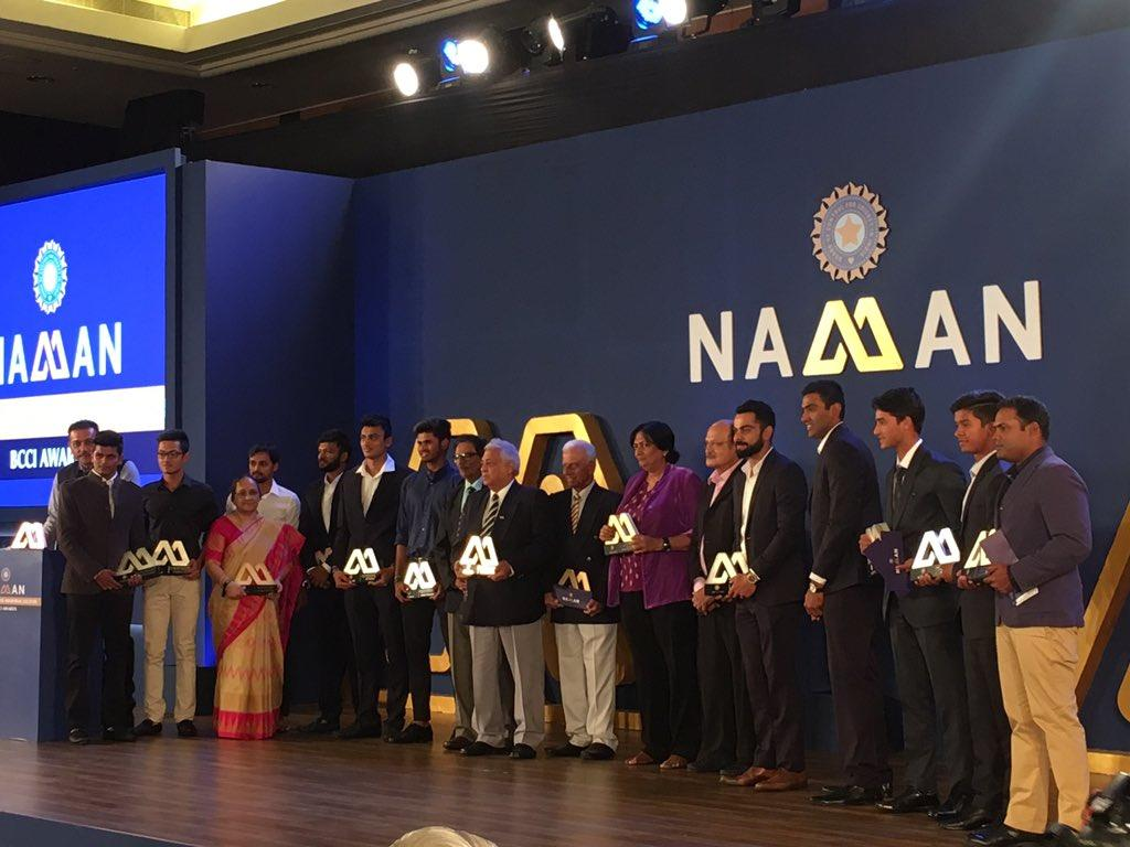 BCCI Awards Night: Kohli and Ashwin steal the show