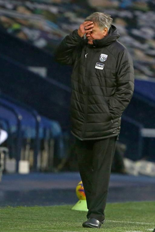 Going down? Sam Allardyce's record of never being relegated from the Premier League is under threat at West Brom
