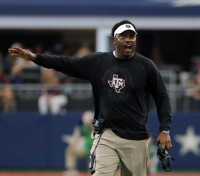 Kevin Sumlin has a 51-26 record (25-23 SEC) at Texas A&M. (AP)