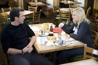 "<p>If there's one thing we learned from Leslie Knope on <em>Parks and Recreation</em>, it's that there's nothing that can't be solved over a plate of waffles—with extra whipped cream. Don't worry, you don't have to drive all the way to Indiana for a chance to sit in one of JJ's leather booths: The show shot their <a href=""https://www.delish.com/restaurants/g4440/famous-movie-restaurants-bars/?slide=34"" rel=""nofollow noopener"" target=""_blank"" data-ylk=""slk:interior scenes at Four 'N 20"" class=""link rapid-noclick-resp"">interior scenes at Four 'N 20</a> in Van Nuys, California. </p>"