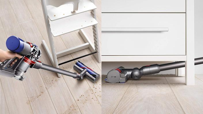 This sleek, cordless vacuum is a must at this amazing low price.