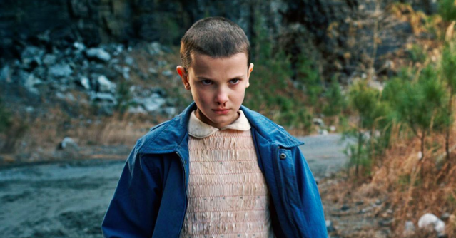 People aren't happy about a sexy Halloween costume that resembles the character Eleven from <em>Stranger Things</em>. (Photo: Netflix)