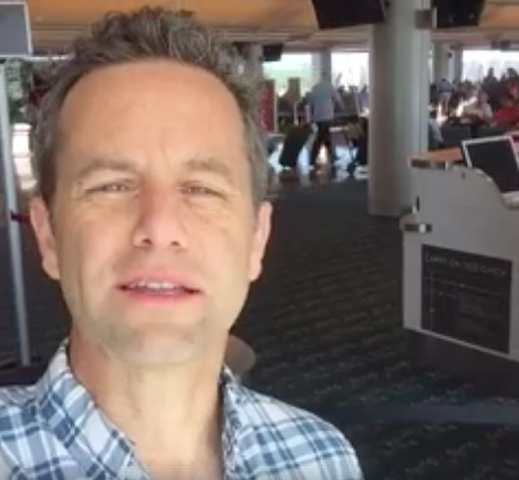 Cameron said the dual hurricanes couldn't be a coincidence...but he failed to mention climate change. (Kirk Cameron/Facebook)