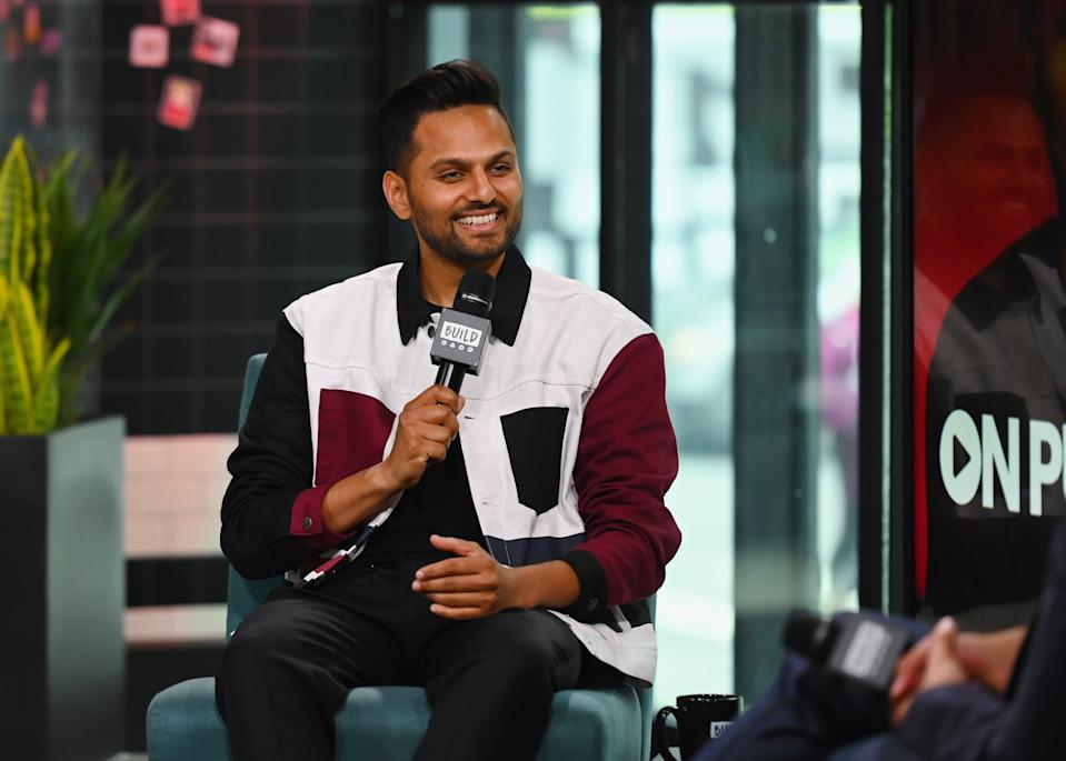 "NEW YORK, NEW YORK - MAY 07:  Jay Shetty visits the BUILD Series to discuss ""On Purpose with Jay Shetty"" at Build Studio on May 07, 2019 in New York City. (Photo by Nicholas Hunt/Getty Images)"