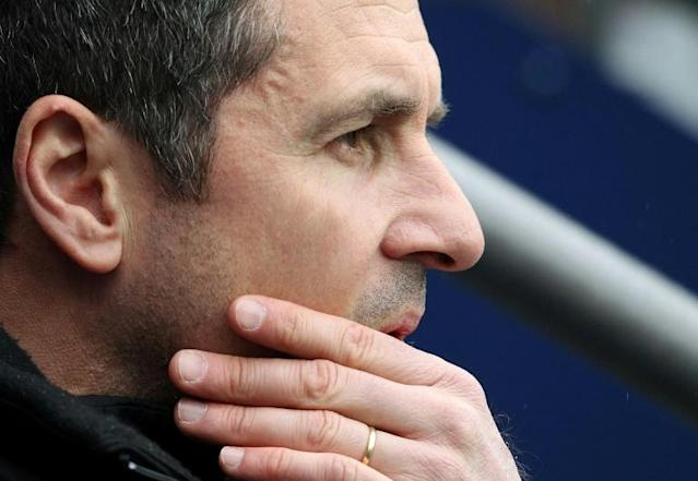 Montreal Impact head coach Remi Garde has been fired by the MLS club (AFP Photo/LINDSEY PARNABY)