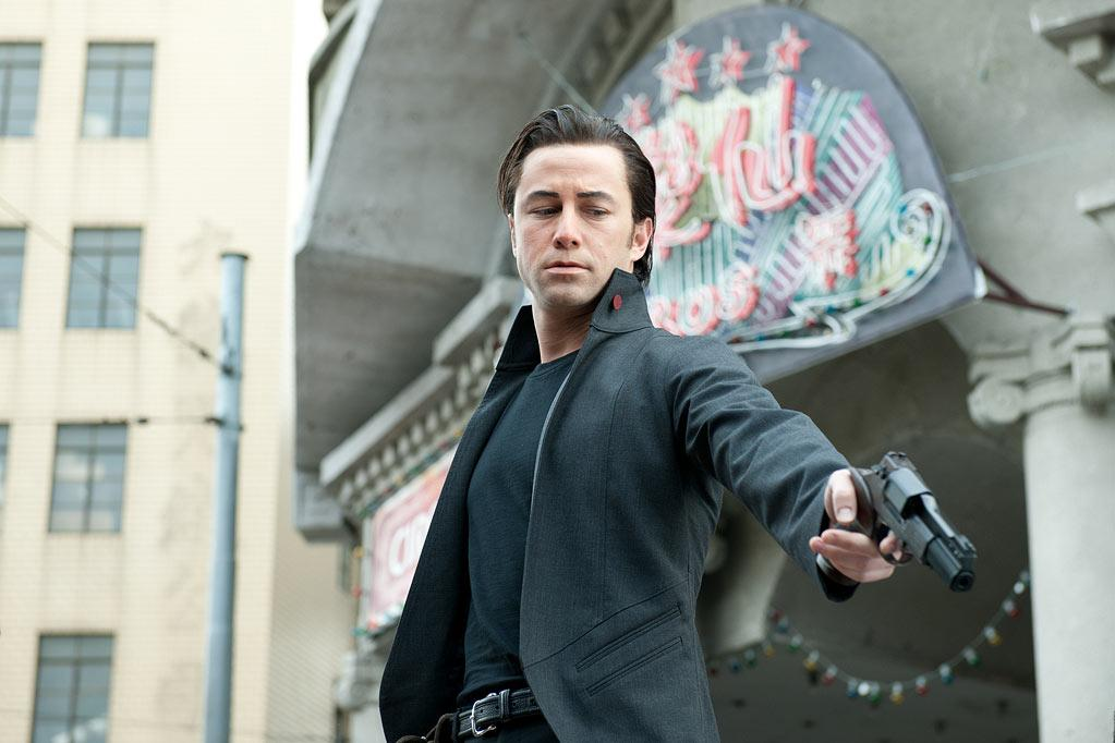 """ Looper "" Release date: September 28 Starring: Joseph Gordon-Levitt, Bruce Willis and Emily Blunt"