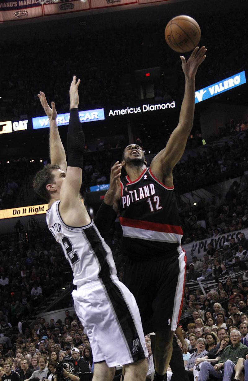 Blazers look to steady themselves after Spurs rout