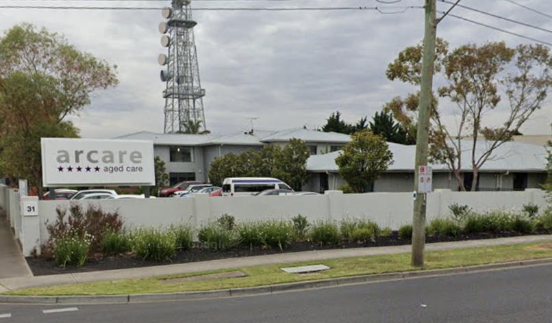Arcare Maidstone, where a staffer has tested positive for Covid.