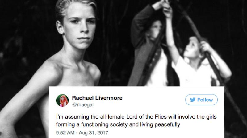 15 Hilarious Women Respond To The All-Female 'Lord Of The Flies' Remake