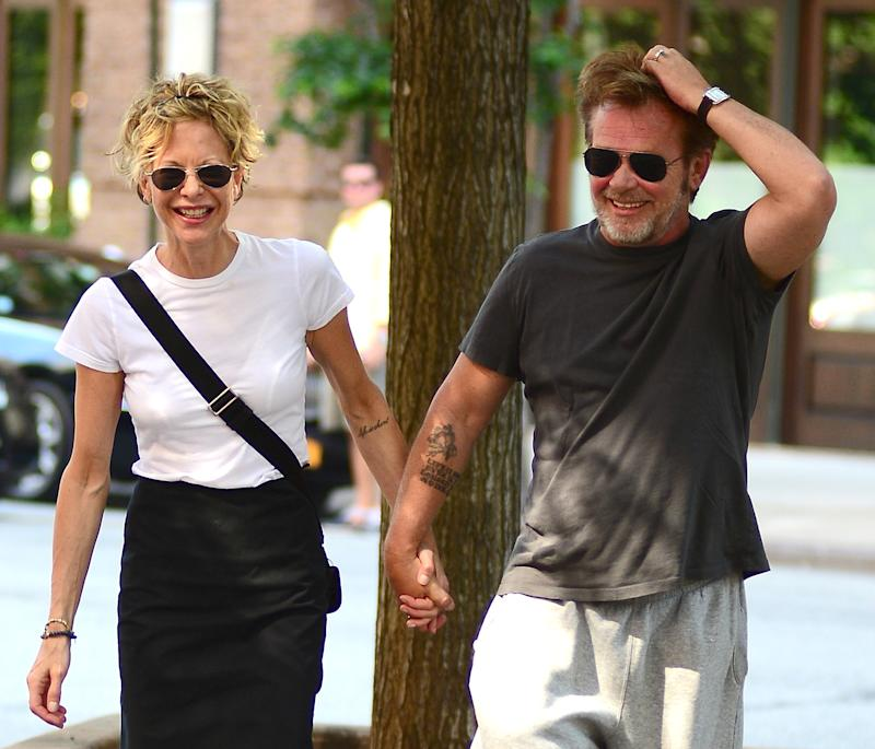 Meg Ryan confirms she's engaged to longtime boyfriend John Mellencamp