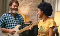 <p>Nick Offerman and Kiersey Clemmons play a father and daughter who form an unlikely songwriting duo in the summer before she leaves for college. </p>