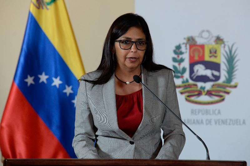 Image result for ice President of Venezuela, Delcy Rodriguez