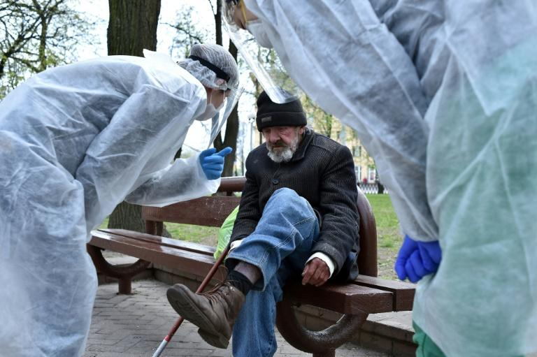 Since the onset of the coronavirus a project providing free health care to the needy and homeless in Belarus has seen a spike in demand