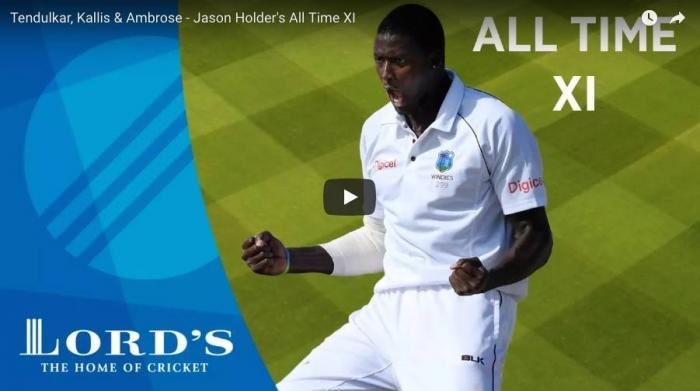 <p>September 20 (CRICKETNMORE) - The Lords Cricket Grounds Youtube page recently released the video of West Indies captain Jason Holder naming his All Time XI.</p>