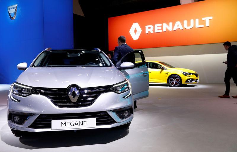 A Renault Megane car is pictured at Brussels Motor Show