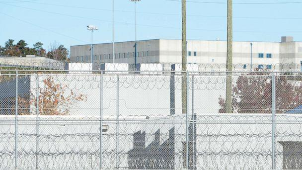 PHOTO: The fence around the federal prison in Butner, North Carolina is seen here. (Sara D. Davis/Getty Images)