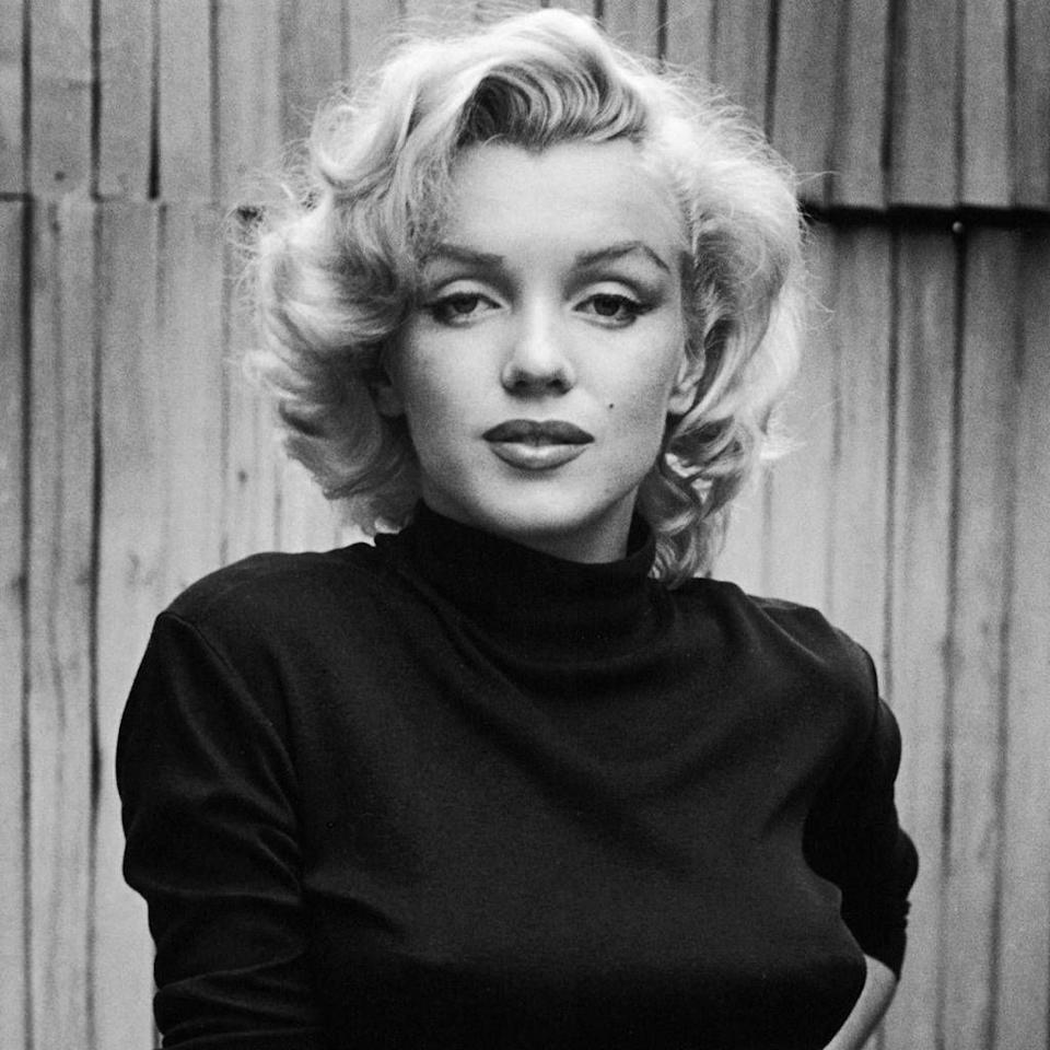 <p>No name is as immediately synonymous with female beauty than Marilyn Monroe<span>, the 1950s screen siren whose glamorous public life obscured an often tragic private life. Despite playing the 'dumb blonde' stereotype demanded by her era, off camera she was integral in building her own star power and in 1954 founded her own film production company because she was unhappy with the derisory contract offers from major studios.</span></p>