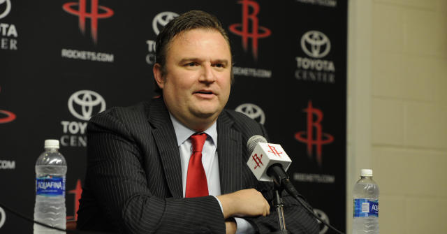 "The <a class=""link rapid-noclick-resp"" href=""/nba/teams/phi"" data-ylk=""slk:76ers"">76ers</a> reportedly tried and failed to lure Daryl Morey from the <a class=""link rapid-noclick-resp"" href=""/nba/teams/hou"" data-ylk=""slk:Rockets"">Rockets</a> to be their new general manager. (Getty)"
