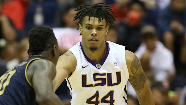 LSU basketball player Wayde Sims was shot and killed in Baton Rouge early Friday morning. (Getty)