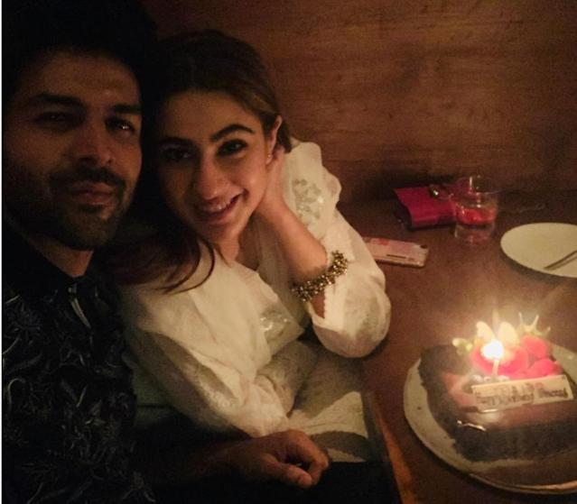 Sara and Karthik have been all gossip-mongers' favorite, since the actress mentioned him on Karan Johar's talk show. The two started seeing each-other - literally, even if not rhetorically, soon. This charming pic of them was shared by Karthik on his birthday, and the click went viral within moments of being posted. Has to be one of his most 'hearted' shares on the pic-sharing platform.