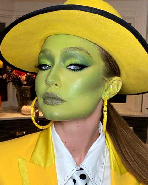 "<p>Gigi went as Jim Carrey's character in ""The Mask,"" and she seemed to really get into character. </p><p><a href=""https://www.instagram.com/p/B4UBGCRjWAJ/"" rel=""nofollow noopener"" target=""_blank"" data-ylk=""slk:See the original post on Instagram"" class=""link rapid-noclick-resp"">See the original post on Instagram</a></p>"