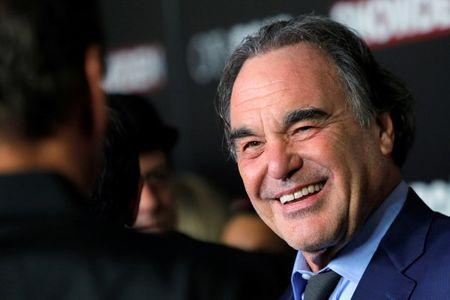 "Director Oliver Stone attends the premiere of the film ""Snowden"" in Manhattan, New York, U.S., September 13, 2016.  REUTERS/Andrew Kelly"