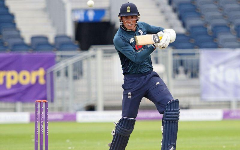 Tom Banton made his debut for England against New Zealand last year