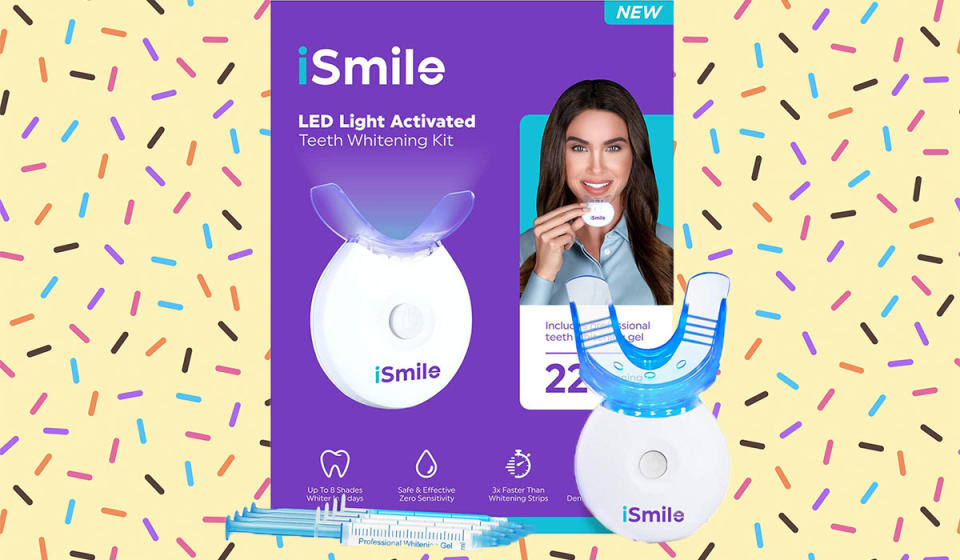 Save big on this top-rated whitening kit. (Photo: Amazon)