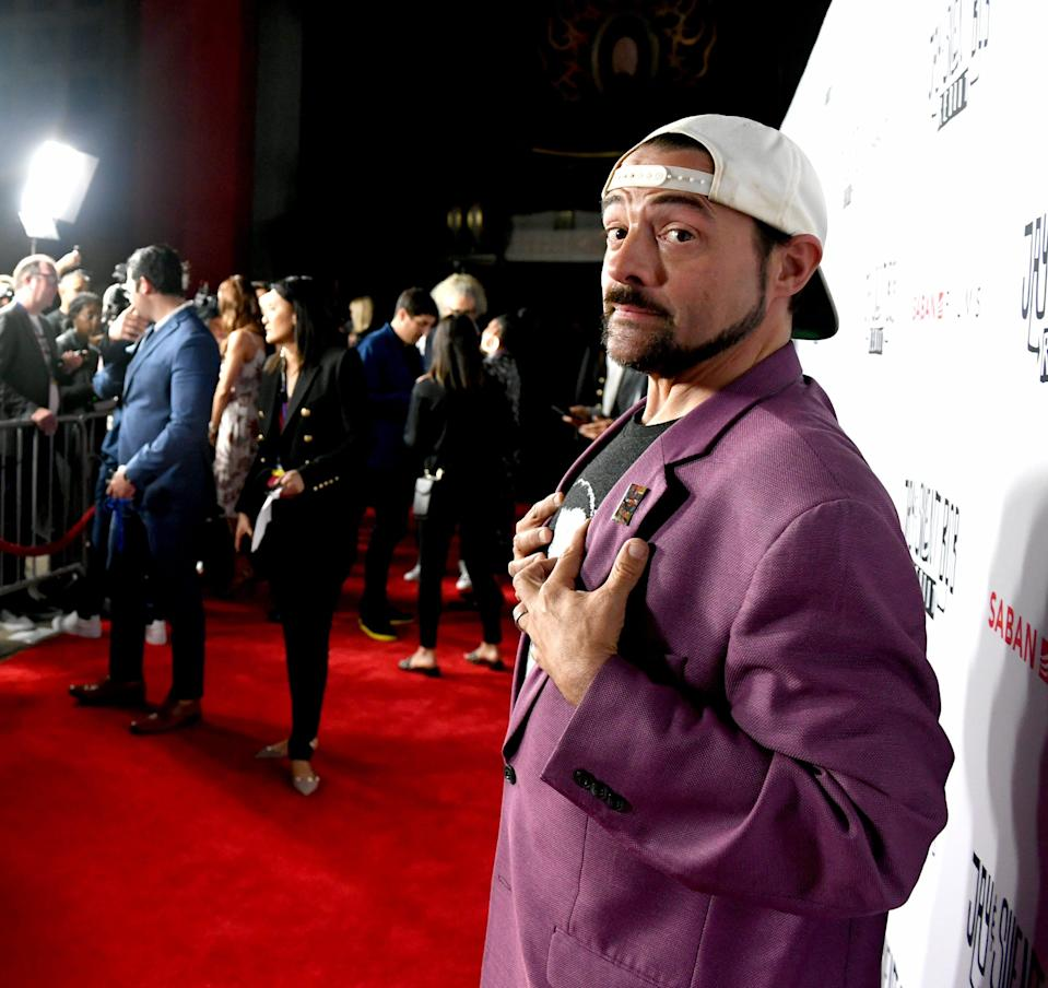 """Kevin Smith, in 2019, has a plan for his new film """"Killroy Was Here."""""""