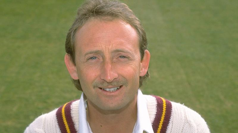 Pictured here, David Capel during his cricketing playing days.