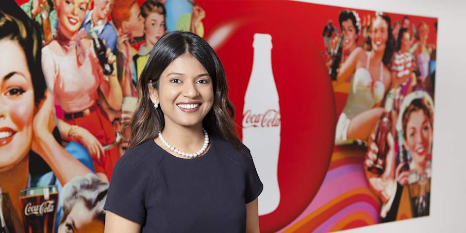Tapaswee Chandele, global vice president of talent & development, The Coca-Cola Company