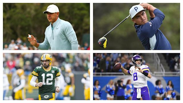 NFL quarterbacks and PGA Tour golfers are some of the most recognizable athletes in today's sports world. So let's draw comparisons between these two groups of stars.