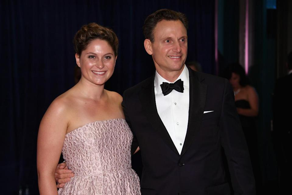 <p>Actor Tony Goldwyn and guest attend the 102nd White House Correspondents' Dinner, April 30. <i>(Photo: Larry Busacca/Getty Images)</i></p>