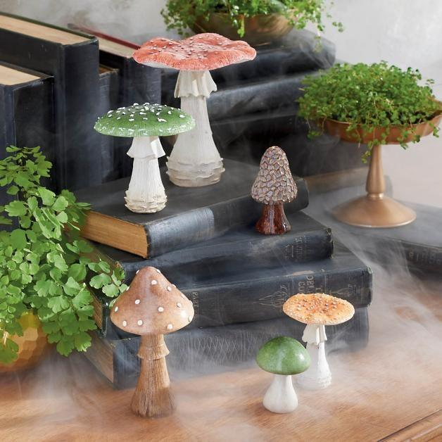 <p>Decorate your home with these <span>Haunted Mushrooms</span> ($50).</p>